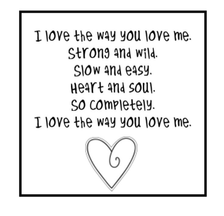 You can love me this way lyrics