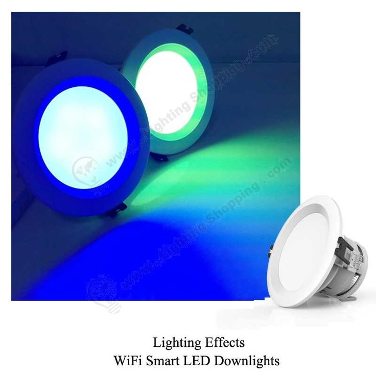 RGBW Wifi LED Downlights 7.5W -lighting-effects-2 More details at >>> http://www.lightingshopping.com/rgbw-wifi-led-downlights-7-5w.html