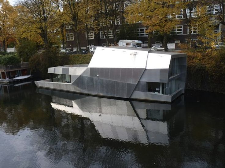 1000 images about architecture pontoon house on water houseboats floating houses on. Black Bedroom Furniture Sets. Home Design Ideas