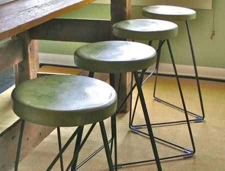 10 Coolest Gadgets And Furniture Made Of Concrete   Concrete Furniture,  Cool Furniture. Green Bar StoolsOutdoor ...