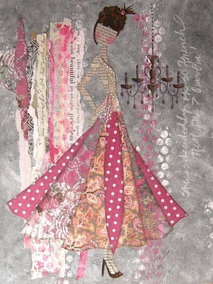Julie Nutting Collage Couture.