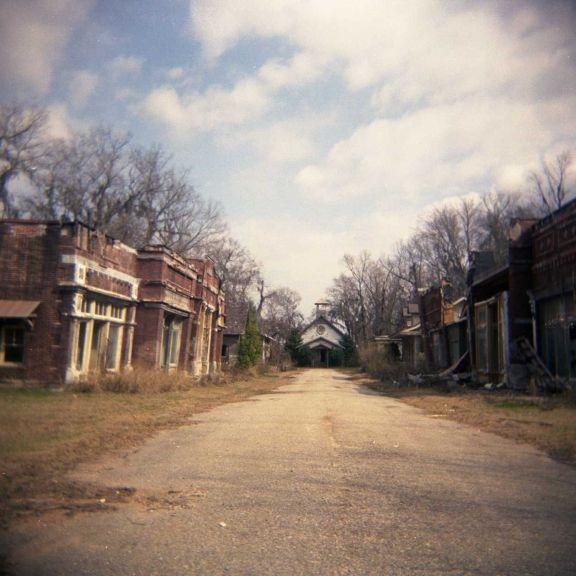 Deserted Set Of Spectre From Big Fish, Millbrook, Alabama