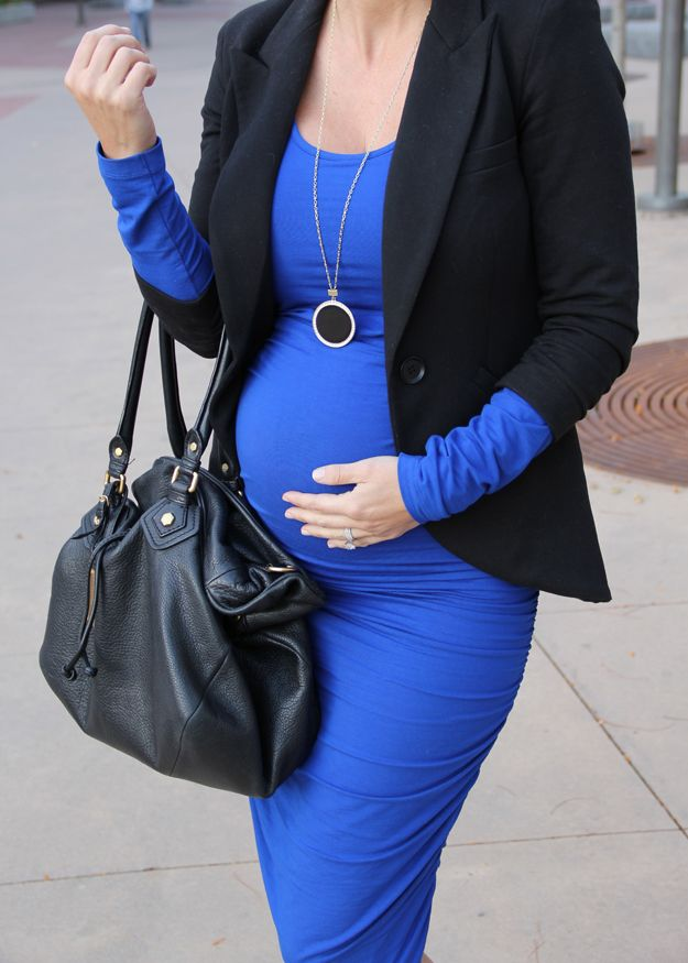 blue + black style    (pregnancy / maternity style)    http://marionberrystyle.blogspot.com
