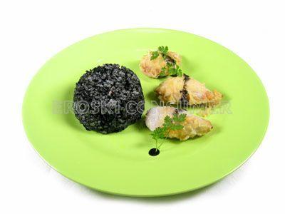 Receta de arroz negro con chipirones fritos   EROSKI CONSUMER