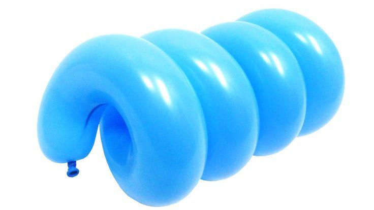 Спираль №2 из воздушных шаров