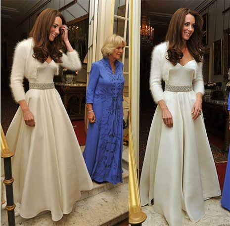 Casamento Real - o outro vestido de Kate Middleton