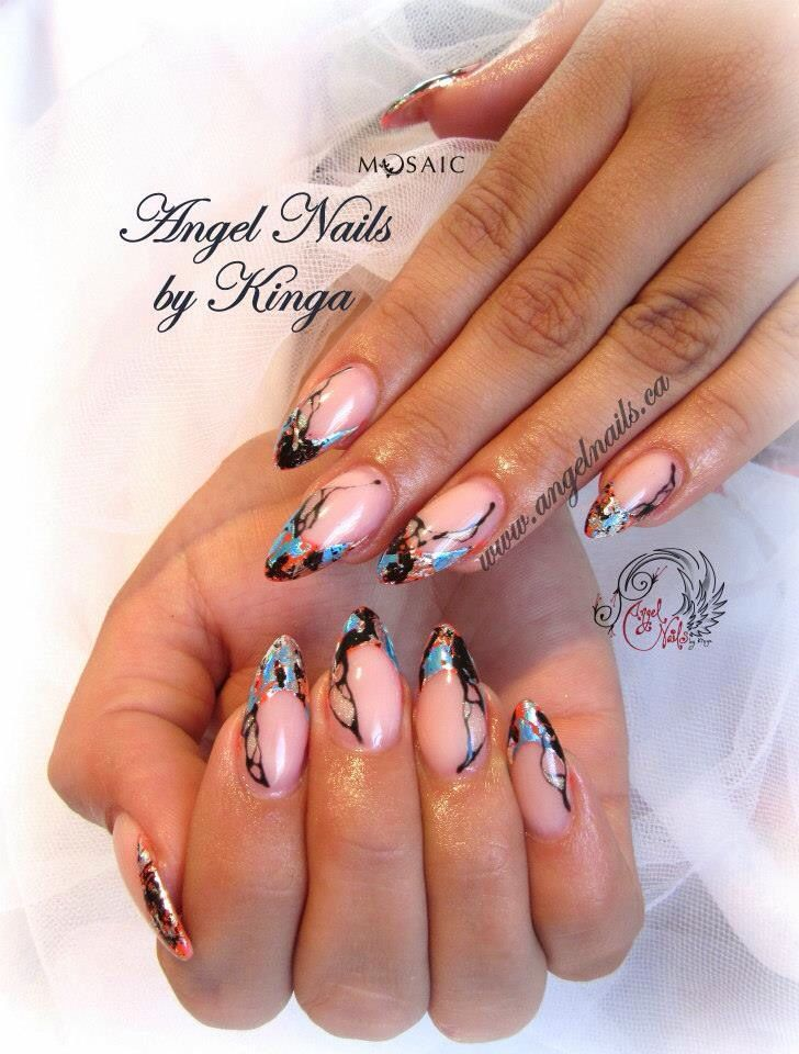 55 best Nails - French Twist images on Pinterest | Nail decorations ...