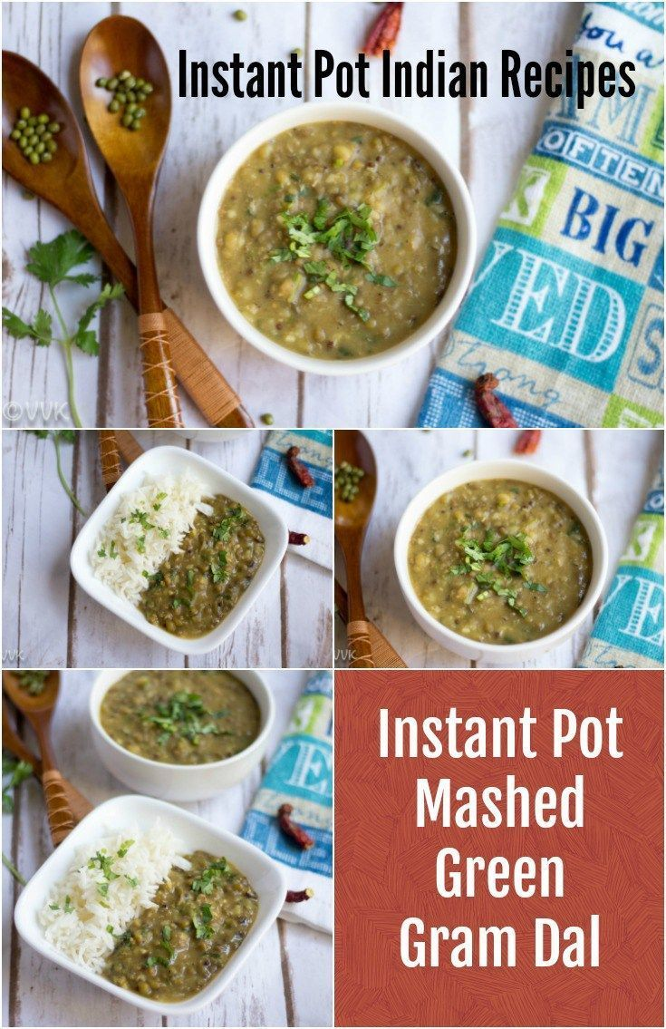 Instant Pot Mashed Green Gram Dal Pachai Payaru Masiyal