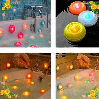 Подводная цветная изменение цвета плавающей из светодиодов пруд бассейн спа горячая ванна ночник NIVE