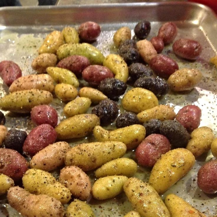 EASY Garlic Ranch FINGERLING POTATOES