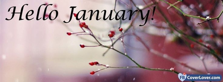 Fbcoverlover : Hello January - Facebook Cover Maker - seasonal Facebook covers photo - Facebook cover photo maker with name and friends