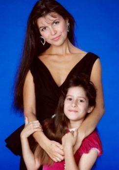 Finola Hughes (character: Anna; 1985-2016)  &  Kimberly McCullough (character: Robin) General Hospital