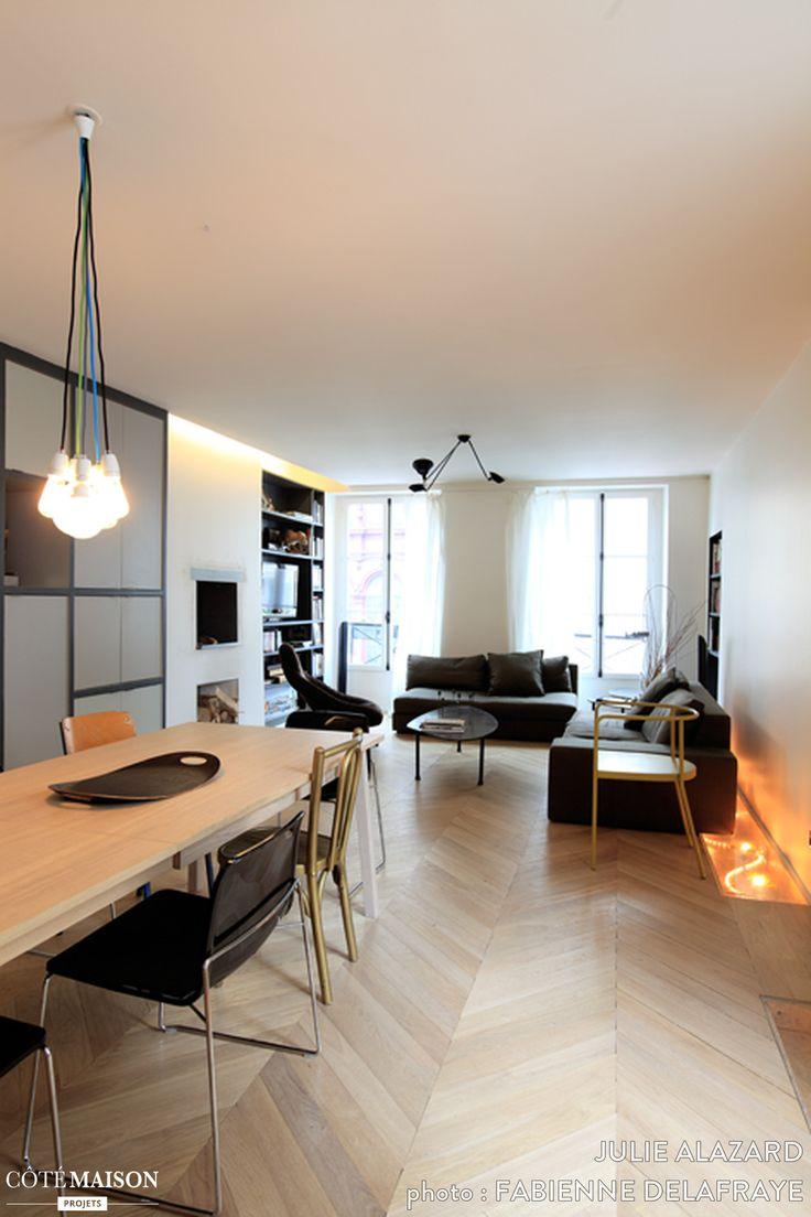 Le projet a consisté en une réhabilitation lourde d'un appartement laissé à l'abandon. Celui-ci présentait de nombreux défauts autant sur le plan de l'organisation spatial que structurel.