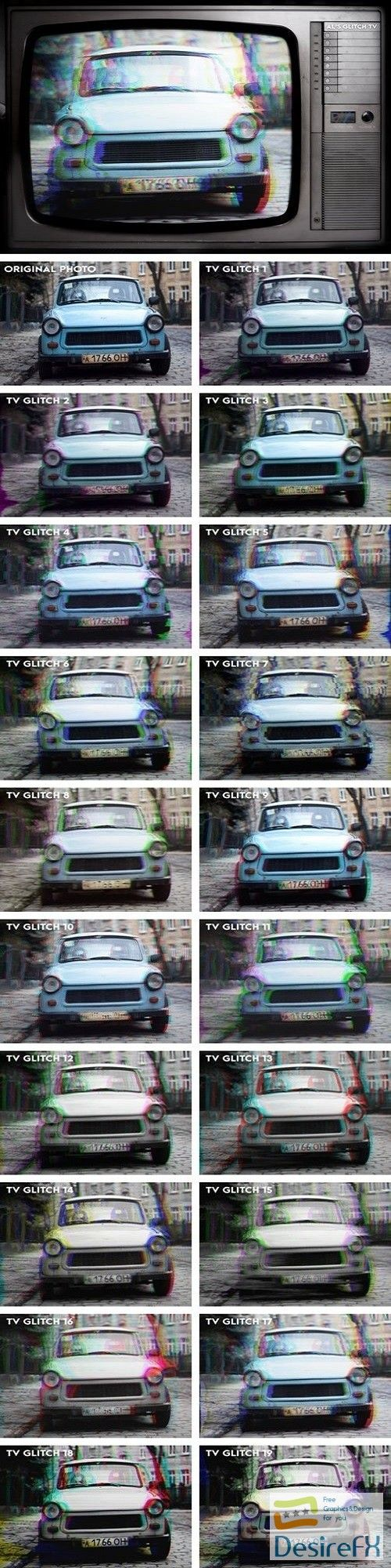 AL's Glitch TV Action Pack Vol. 1 2071635