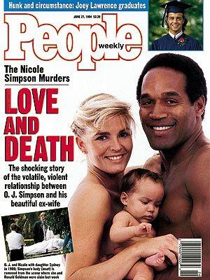 photo | Murder, OJ Simpson Trial, Famous Trials, Nicole Simpson Cover, O.J. Simpson Cover, Joey Lawrence, Nicole Brown Simpson, O.J. Simpso...