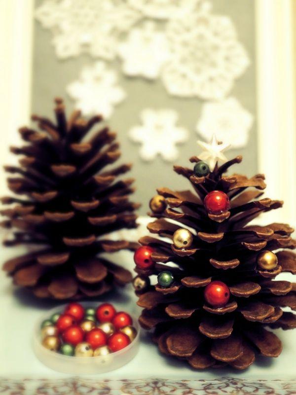 leichte weihnachtsdeko selber machen