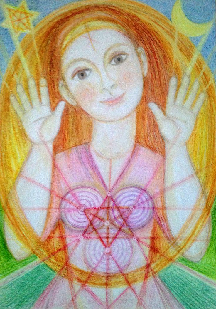 Priestess of Emotional Healing by Ivana Axman