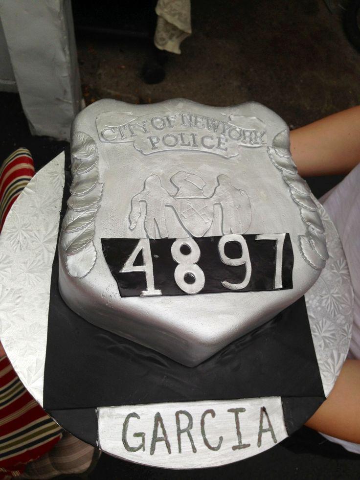 Nypd Graduation Cakes
