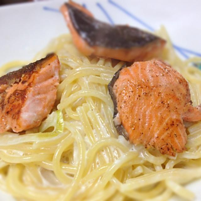 夫作 - 9件のもぐもぐ - 鮭のクリームパスタ by shizuyowajO6M