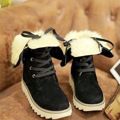 Mujer-Tacón Cuña-Botas de Equitación / Botas a la Moda / Trabajo y Seguridad / Botas de NieveExterior / Oficina y Trabajo / Casual- 4428562 2016 – $29.74
