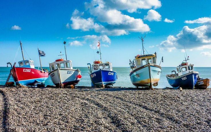 Today's #sunny #landscape #photo is #boats on a #Beach at #Beer #Devon @DevonLife @iloveukcoast #photography #travel pic.twitter.com/IJnvov2DmQ