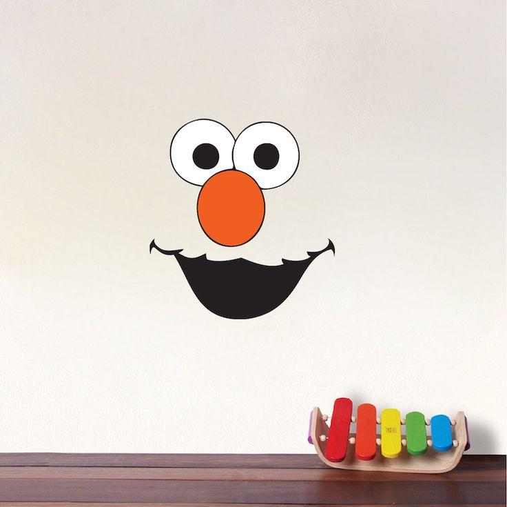 Best 20 halloween mural ideas on pinterest cute room for Elmo wall mural