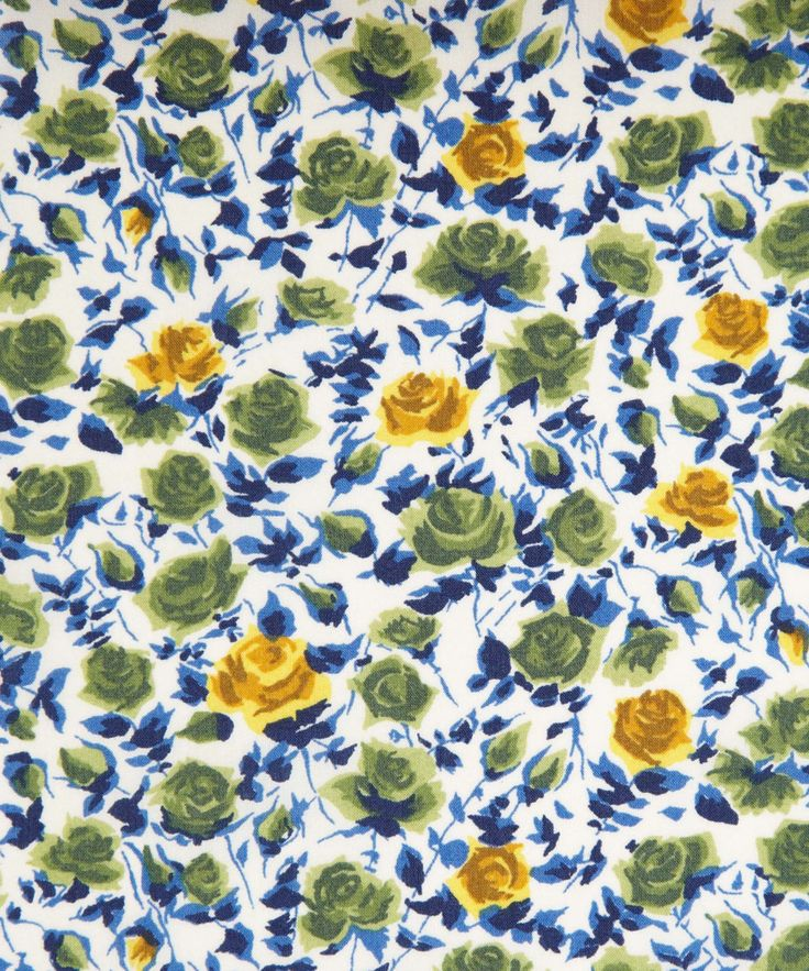 Liberty Art Fabrics Ricardo's Bloom B Tana Lawn Liberty.co.uk