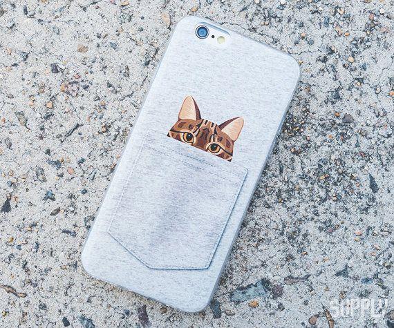 Pocket Cat Case For iPhone 6/6s $14.99 - SupplySquare