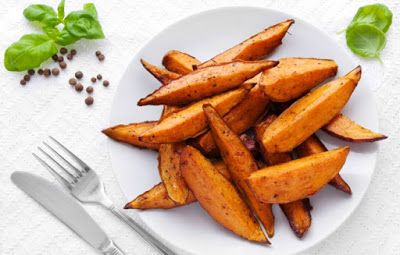 http://ift.tt/2fFytQ9  Sweet Potato's are really sweet when it comes to health benefitsHere are some tips for cooking Sweet Potato's-If you purchase organically grown sweet potatoes you can eat the entire tuber flesh and skin. Yet if you buy conventionally grown ones you should peel them before eating since sometimes the skin is treated with dye or wax; if preparing the sweet potato whole just peel it after cooking. As the flesh of sweet potatoes will darken upon contact with the air you…