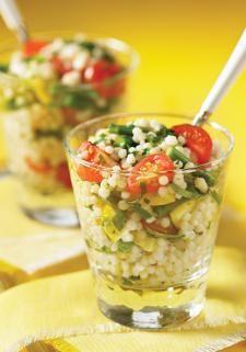 Israeli Couscous Summer Chopped Salad | www.robertrose.ca
