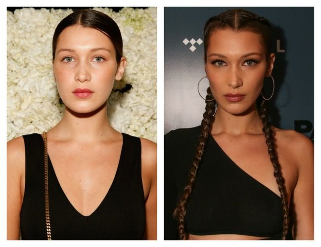 Did Bella Hadid Get a Nose Job? See Before and After Photos of the Model's Alleged Plastic Surgery ! #Plasticsurgery