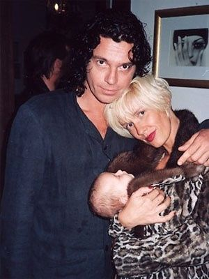 Michael Hutchence And Paula Yates and Tiger Lily