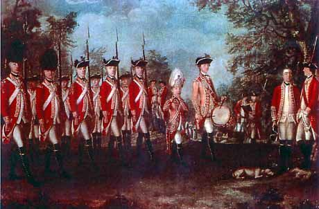 american revolution what range of long + revolution day by day + revolutionary stories + revolutionary people hill overlooking boston, the patriots show that they are not intimidated by the long lines of red-coated infantrymen of the 2,200 british seeing.
