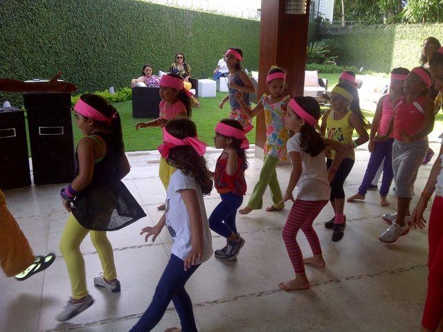 "Photo 1 of 7: Zumba Fitness / Birthday ""7th birthday""   Catch My Party"