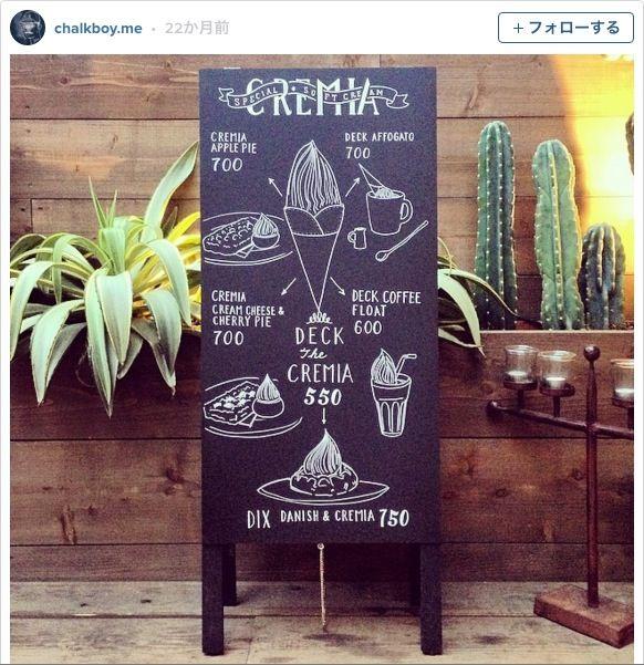 カフェ風インテリアに欠かせない「黒板」を使いこなしたい方は必見+/+人気チョークアーティストの著書で黒板アートをマスターするべし!!!
