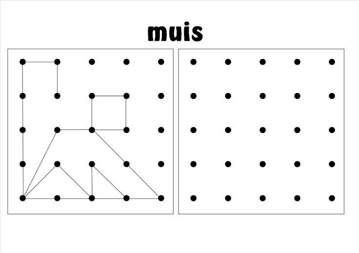 ruimtelijke orientatie, werkblad 2 - 25