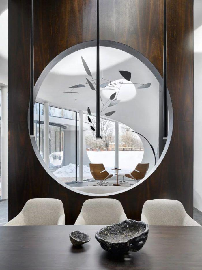Organic Meets Curved Architectural Design Trend Design Project Futuristic Home Interior Organic Interiors Astonishing dining room furniture perth