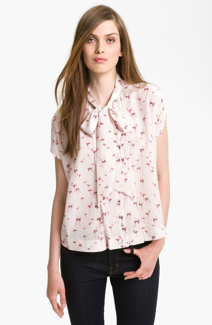 Pink Peter Pan Collar Blouse