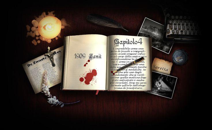 L'anima dello scrittore Zenit - Capitolo 4. Ogni scrittore crea un mondo, ogni scrittore mette la propria anima all'interno del proprio libro, ogni scrittore dà la vita e dà la morte, ma il solo fatto che le sue vittime siano di carta e inchiostro non rende meno atroce il suo delitto http://noracastelli.altervista.org/ #scrittore #libro #racconto