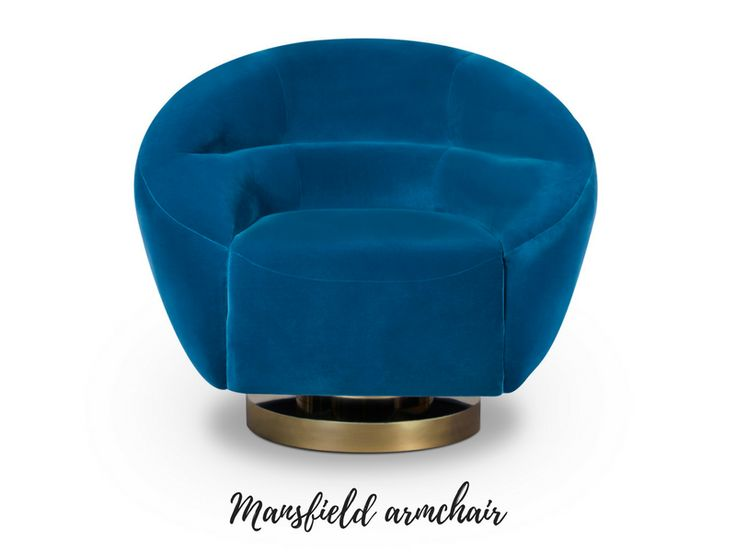 7 Blue Armchairs That Will Easily Make Your Living Room Unforgettable | www.essentialhome.eu/blog