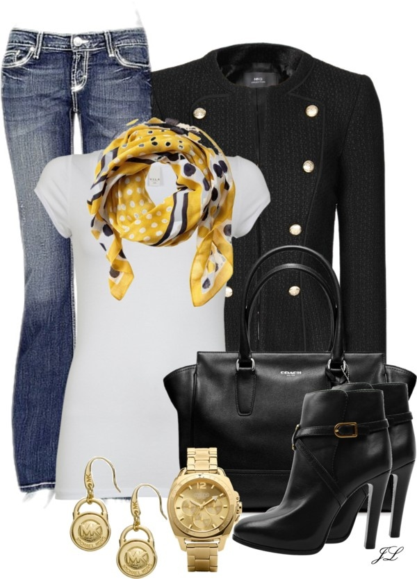 """Comfortable Chic"" by jenalind on Polyvore"