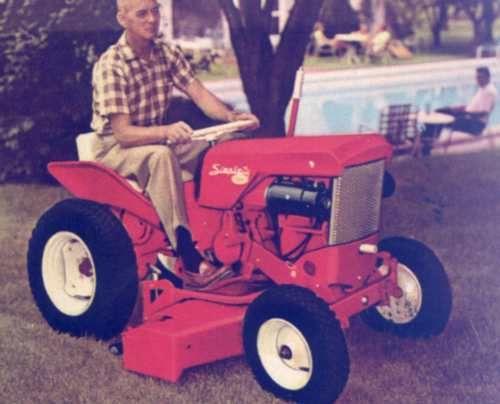 1962 Model 725 Simplicity Garden Tractor