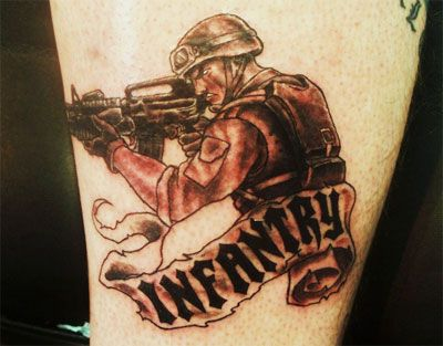 US Army Infantry Tattoo