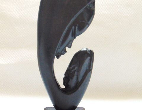 african wooden statues