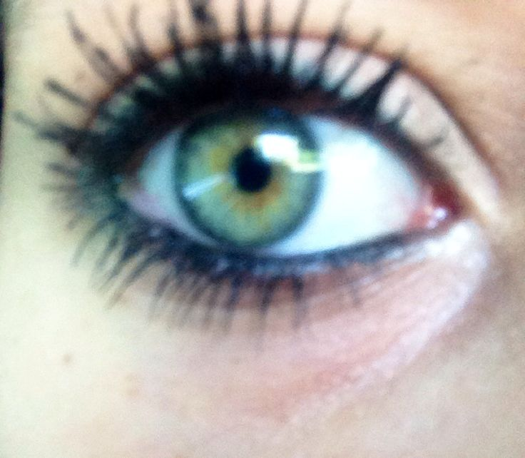 Green Eye With Gold Center And Blue Outer Ring My Eyes