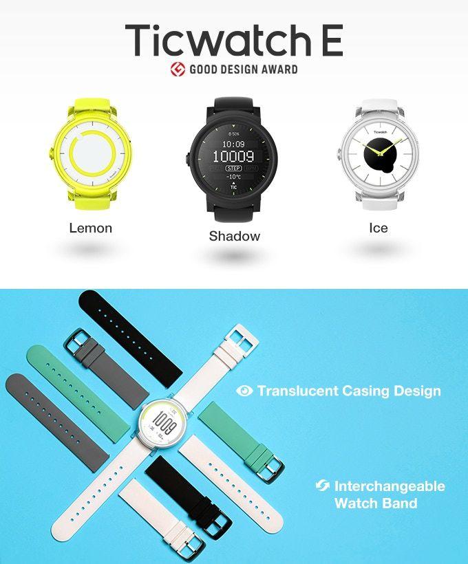 Akıllı Saat Sektörünü Sallayacak Mobvoi Ticwatch Serisi Kickstarter'da