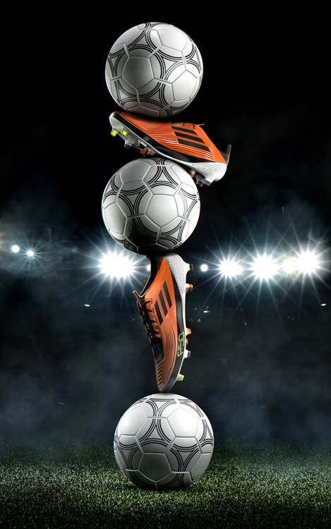 Love The Soccer Shoes and Ball