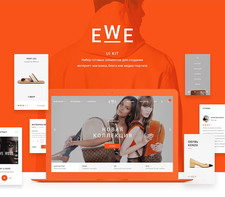 "Check out this @Behance project: ""EWE Kit"" https://www.behance.net/gallery/42851823/EWE-Kit"