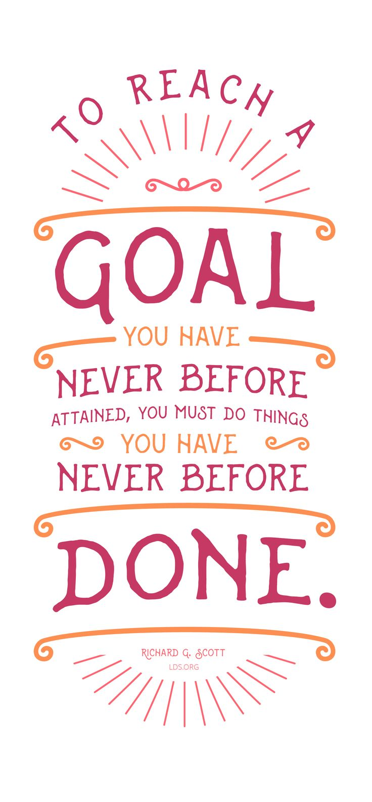 What can you do if you have goals that are far out of reach?