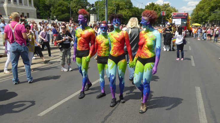 Rainbow Parade  in Vienna 2014